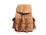 Tan Beech Leather Backpack