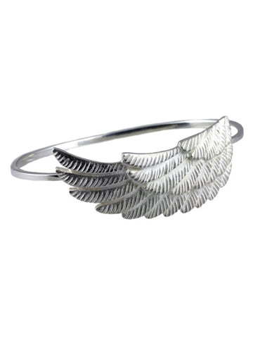 Silver Wing Bangle