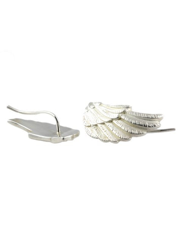 Silver Wing Earrings