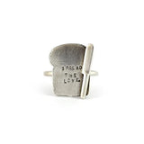 Silver Toast Ring - IndependentBoutique.com