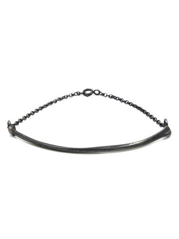 The Radius Bracelet - Oxidised Silver - IndependentBoutique.com