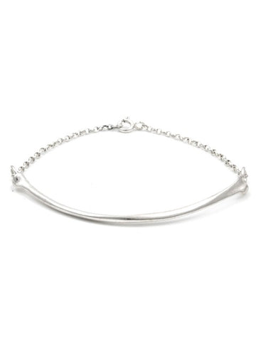 The Radius Bracelet - Sterling Silver