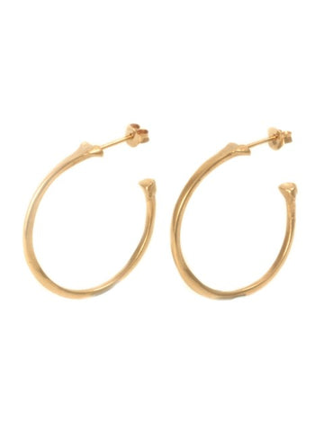 The Radius Hoop Earrings - Rose Gold - IndependentBoutique.com