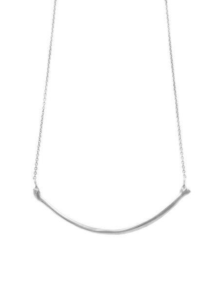 The Radius Necklace - Sterling Silver