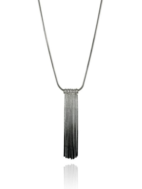 Vesper Short Tube Link Pendant - IndependentBoutique.com