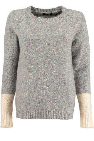 Two Tone Cashmere Jumper