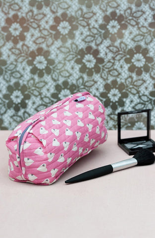 Solero Raspberry Bella Make-Up Bag