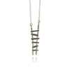 Silver Bill's Ladder Necklace - IndependentBoutique.com