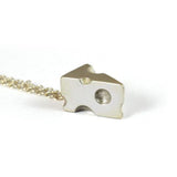 Silver Cheese Dreams Necklace - IndependentBoutique.com