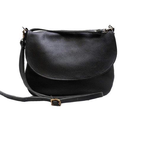 Black Dinky Satchel - IndependentBoutique.com