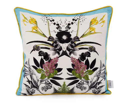 cushion cover digitally printed by London brand St Piece