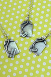 Silver Tea Bag Necklace - IndependentBoutique.com