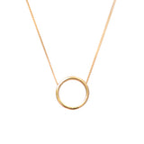 Halo Necklace - Gold Vermeil - IndependentBoutique.com