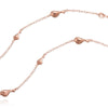 Rose Gold Flock Necklace - IndependentBoutique.com