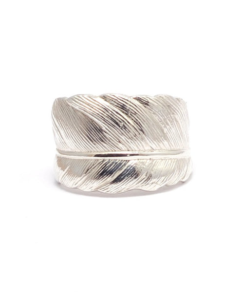 Silver Feather Ring - IndependentBoutique.com