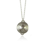 Silver Colander Necklace - IndependentBoutique.com