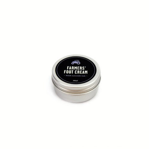 mini aluminium tin of foot cream by Farmers brand