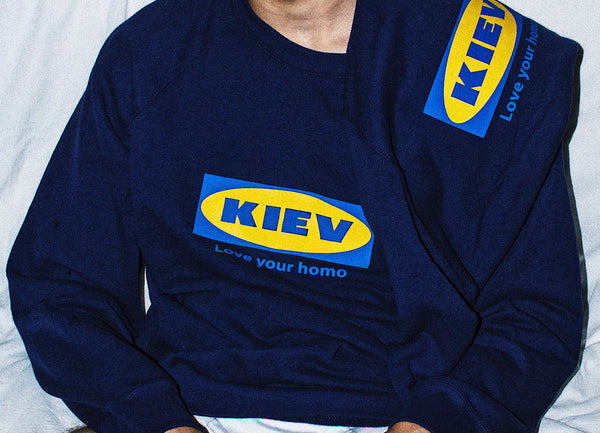 Blue Logo Jumper