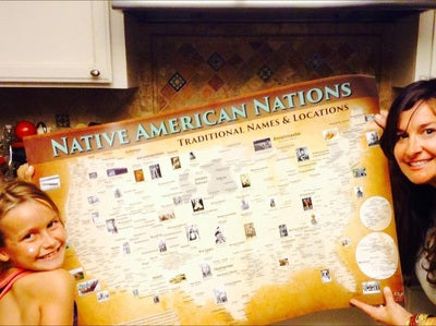 Indigenous Peoples & Native American Tribal Map