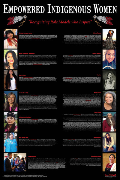 Empowered Indigenous Women Poster