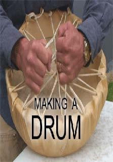 Making a Drum: An Inside Look at Making First Nations Art - Indiegenous Peoples History Film