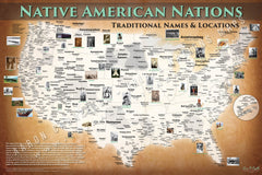 Native American Tribal Nations Map - Updated 2021