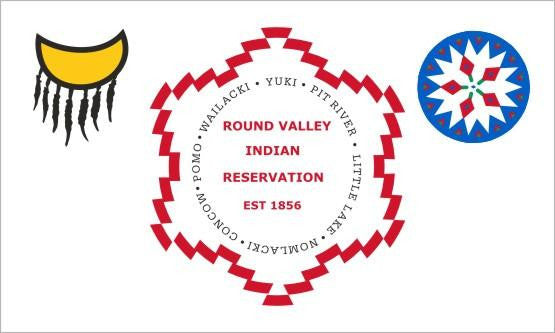 Round Valley Tribal Flag