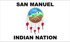 San Manuel Tribal Flag
