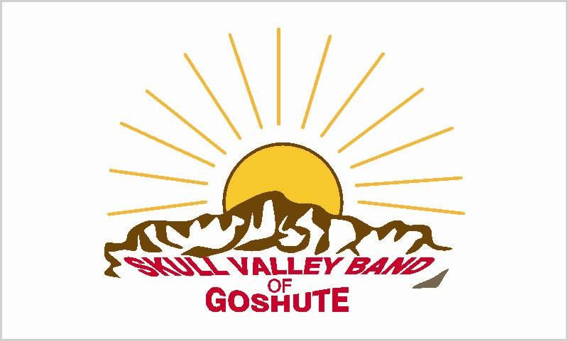 Skull Valley Goshute Tribal Flag