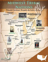 Midwest Tribal Nations Map