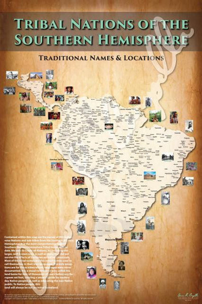 Tribal Nations of the Southern Hemisphere Map