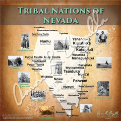 Tribal Nations of Nevada Map Puzzle