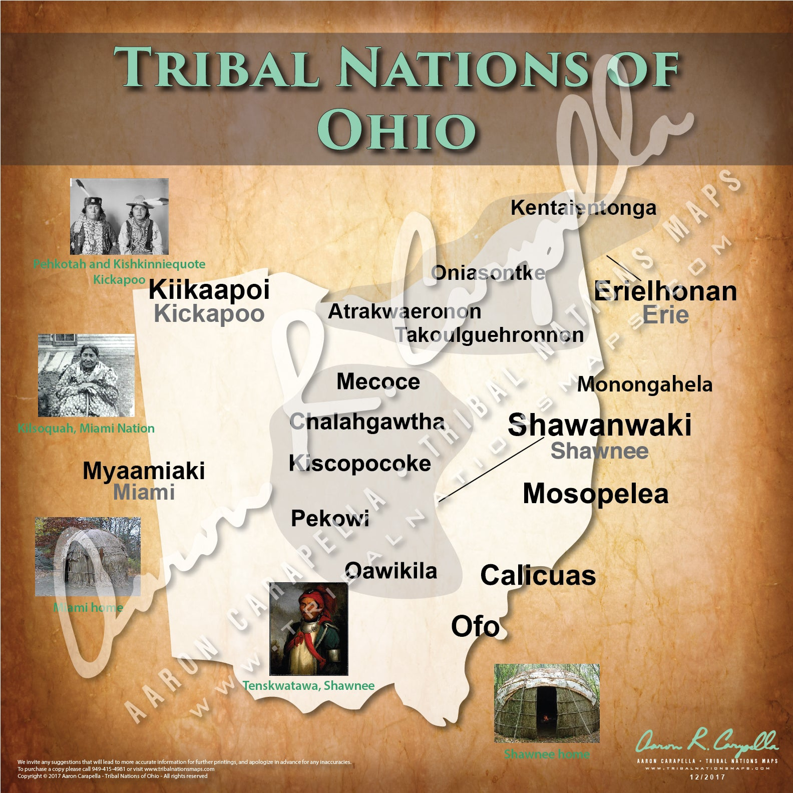 Tribal Nations of Ohio Map