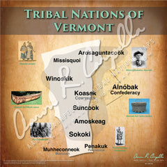 Tribal Nations of Vermont Map Puzzle