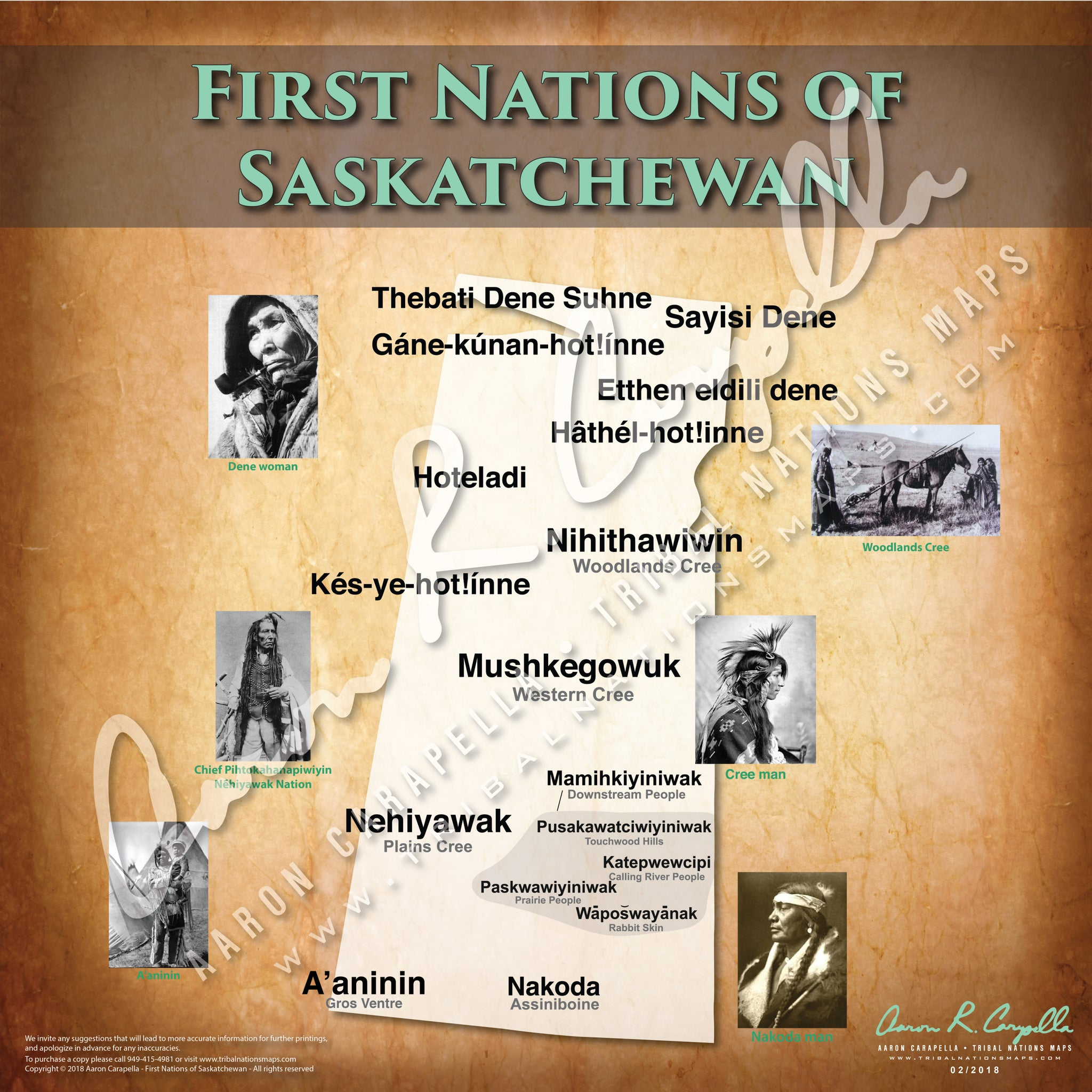 Tribal Nations of Saskatchewan