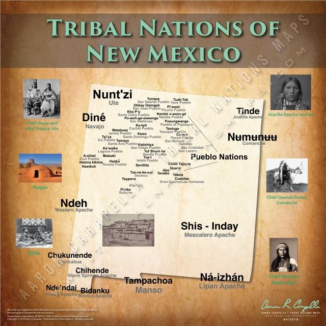 Tribal Nations of New Mexico Map Puzzle