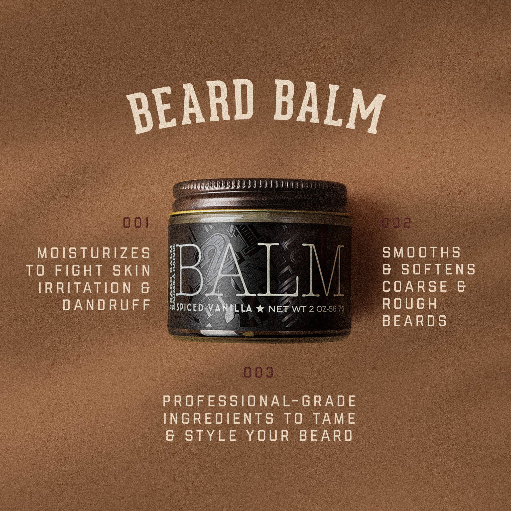 Spiced Vanilla Beard Balm