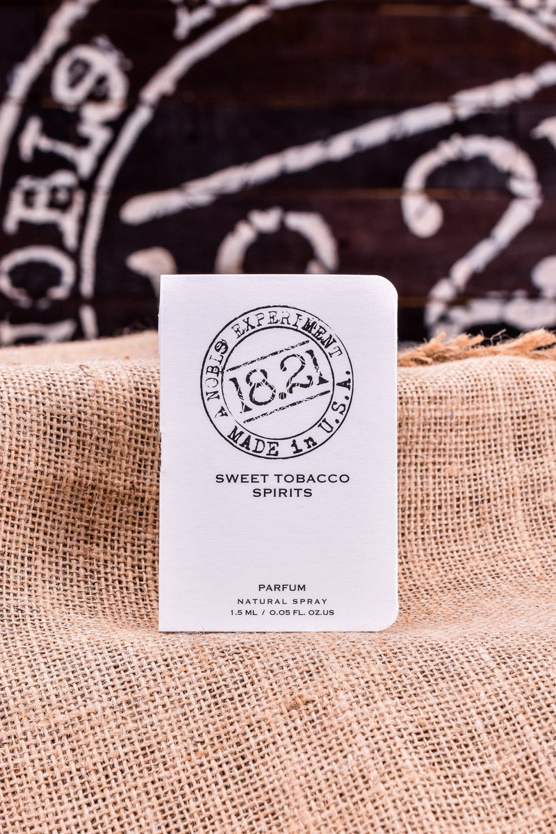 18.21 Sweet Tobacco Spirits Sample |  1.5ml .05 fl oz