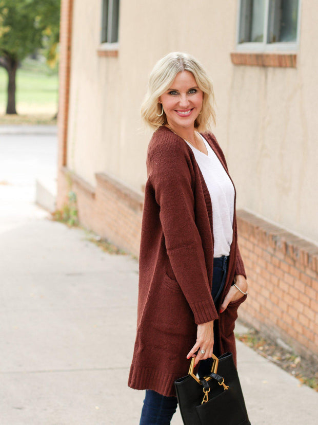 Long Basic Cardigan