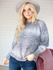 ombre heartloom sweater