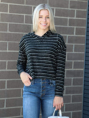 Billabong Cropped Drop Shoulder Long Sleeve