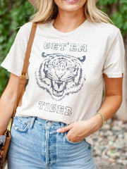 Large Tiger Graphic Tee