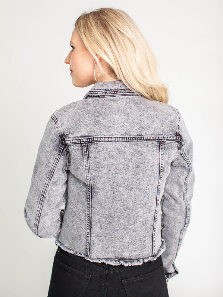 kancan acid wash jacket
