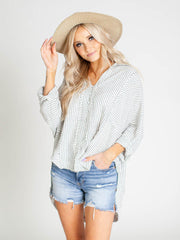 free people stripe shirt
