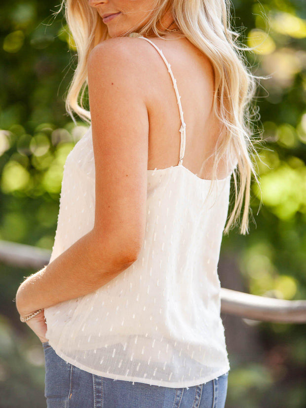 Lace Textured Tank