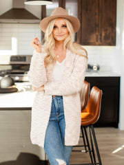 super soft open front cardigan