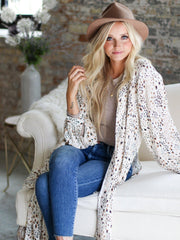Saltwater Luxe Printed Cardigan