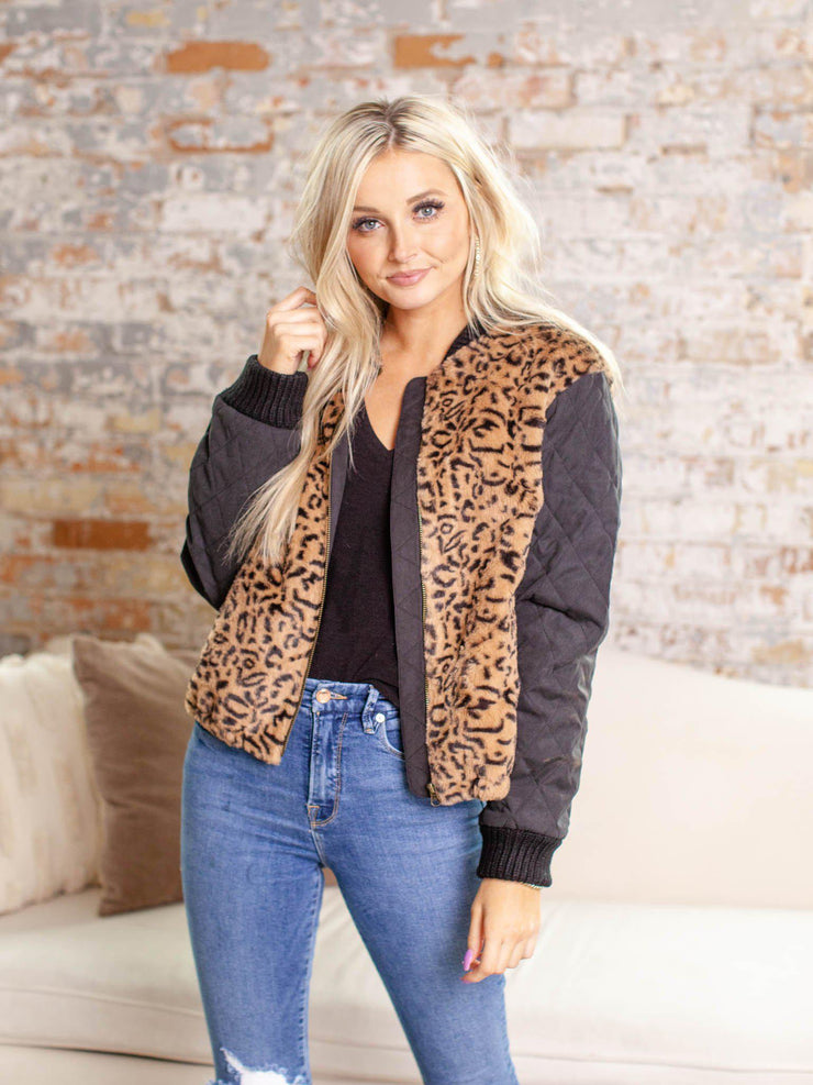 heartloom animal print jacket