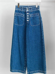 Free People Exposed Button Fly Jeans
