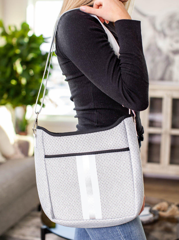 stripe crossbody